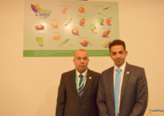 Ashraf Gomaa-Chairman and Ahmed M. El-Shenawy- Quality Assurance Manager from AgroCrops.