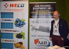 Maciej Chmielewski from Polish distributor Milbor, represented WECO and A&B Lakewood at the event.