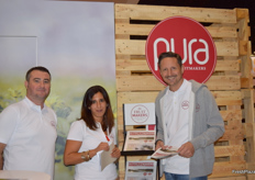 Oscar Artero, MariaPaola Paola and Geza Aumueller from FruitMakers.