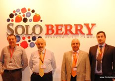 Soloberry, represented by Juan Jose Ollero, Melt van Schoor, Graham Blake, Carlos Gonzáles and Pepo Castilla, producers of the blueberry variety Adelita and other early varieties.