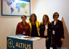 Grupo Altius, a transport and logistics firm. From left to right: Marta Castro, Marta Esteban, Marlene Arisa and María Hornedo.