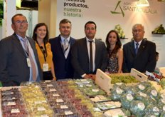 Agrícola Santa Eulalia, a fruit and vegetable producer. From left to right: Francisco Mula, Eva Mula, Pedro García, Francisco Mula, Angela Mula and Juan Mula.