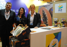 The HLB team at the Brazilian stand during Fruit Attraction.