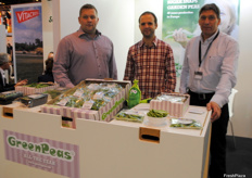 The team of Greenpeas. The company is originally from Denmark, but it also produces in Portugal.
