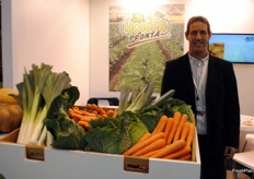 Carlos Marqués, of Hortapronta, devoted to the production, processing and distribution of vegetables for Portugal's western region.