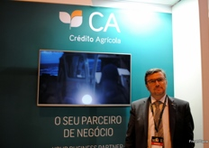 João Cruz, of Crédito Agrícola; a Portuguese bank which gives support to the Portuguese agricultural sector.