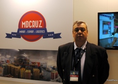 Octávio Zagalo, of MDCruz, a Portuguese company devoted to importing, exporting and logistics.
