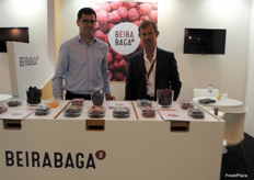 The team of Beirabaga, Portuguese company known for its berries.