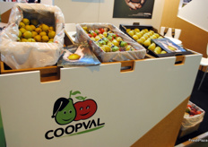 Coopval was also present at the fair.