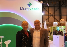 Ingeborg van Geldermalsen works at the commercial department of Murgiverde. She is pictured here with commercial manager Antonio Ruiz Rodriguez.