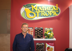 Kenneth Meyer of Natural Tropic has plenty of mangoes, avocados and cherimoyas again. He already gave a market update at the Fruit Attraction