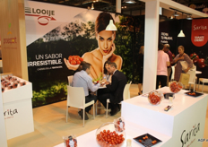The Spanish branch of Looije had its own booth at the fair.