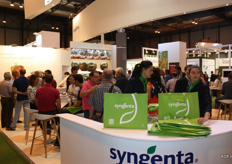 Many visitors at Syngenta as well.