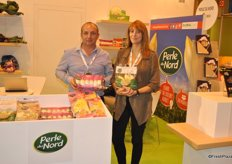 Vincent Decool and Caroline Basset from Perle du Nord they are busy in developing a new range of products