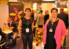Magali Correia and Celine Mura from Groupe Rouquette