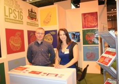 Tommy and Linda from the London Produce Show. The Show will take place on June 8-10, 2016 at the five-star Grosvenor Housein. The boutique exhibition gives trade exhibitors direct access to a wide range of international produce buyers from the retail, foodservice and wholesale sectors.