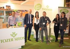 Tozer Seeds, promoting the flower sprout. This superfood will be available from november. Third on the left Robin Bartels, sales&marketing manager and on the right Team Tozer Iberica.