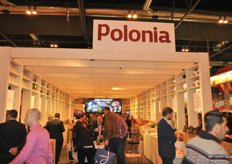 The Polish apple growers and exporters had a big pavillion