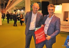 Werener Kastelein and Rick Rebergen from RPO happy with the special edition of the Primeur Fruit Attraction