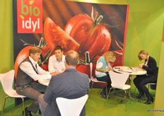 Bio Idyl promotes the organic side of the company at the show