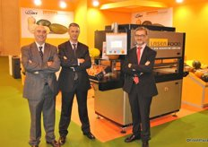 Laserfood was also present at the show wit: Angel Balaguer, Jaime Sanfelix and Stephane Merit