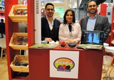 The Mexican company Berries Paradise, with its sales manager, sales representative for Russia and Europe and its CEO.