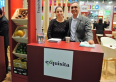 Ivonne Audiffred and Carlos Zarain, of Exquisita, Mexico.