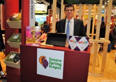 Juan a. Laborín Gómez, of Sonora Spring Grapes, will announce the grape harvest prospects in April.