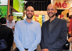 Maximiliano Derosas and Tiago Vasconcelos, of Fruit Connection, once again attending the fair. The company is based in the Netherlands, but was present at the Costa Rica stand.