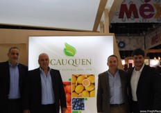 The Cauquen team, from Argentina.