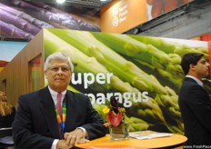 Carlos Zamorano Macchiavello, of Provid (Peruvian Table Grape Producers Association) and Ipeh (Peruvian Institute for Asparagus and Vegetables).