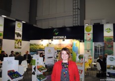 Ingrid Gaitán, of Agexport Guatemala. The Agritrade Exhibition in Guatemala will be held on 23 and 24 March.