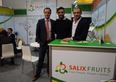Part of the Salix Fruits team together with its French apple supplier Pominter.