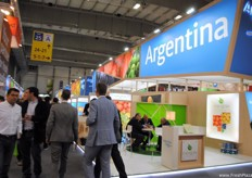 Almost 70 Argentinian companies were present with their own stands.