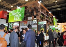 The Costa Rican stand was bigger and better. They continue to improve every year.