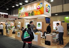 Many of the same Colombian companies which were present last year.