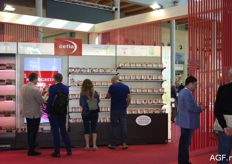 The fair started with a hall with various novelties and new products.
