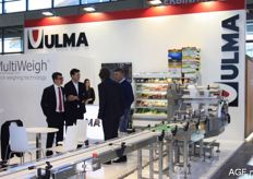 Ulma presented various machines for packing and processing fresh produce.
