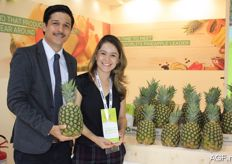 Juan José Bolanos Herrera from the company Pinaalbo from Costa Rica. The family company was founded in 2004 and is specialised in pineapple.