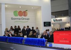 A look at Sorma Group's stand, which is always crowded.