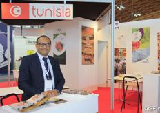 Ghazi Rouissi from House of Dates, a Tunisian company specialised in dates.