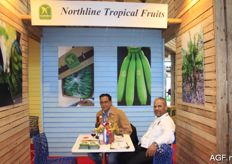 Northline Tropical Fruits from the Dominican Republic. Bruno Lowell and Iuis Samuel Nunez are producer and exporter of bananas.