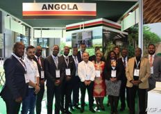 The companies from Angola were present with, among others, Apiex, an agency for the promotion of export from Angola.