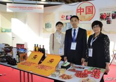 The team from Characteristic Agriculture from the Shanxi provence in China.