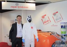 Raymond Grootscholten from Royal Brinkman.