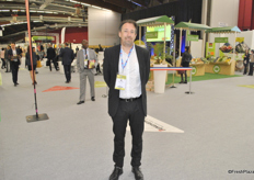 Grégory Struyve for the first time came as a visitor with his new company GST Export