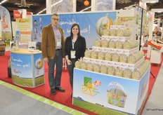 Michel Vicente and Maeva Delrizzo from ForceSud