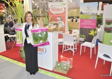 Adriana Chelli from Les Herbes du Roussillon. They have bigger packaging especially for restaurants and catering.