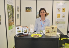 Dominique Beaumont from Inovfruit has a new product chestnut flour