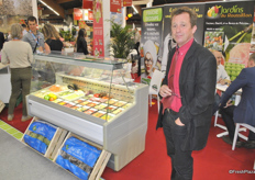Jean Arbillot owner of the new company 4ème Nature offers fresh-cut produce kits for the families to use directly.